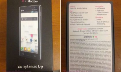 T-Mobile Optimus L9 Price and Release Date announced!