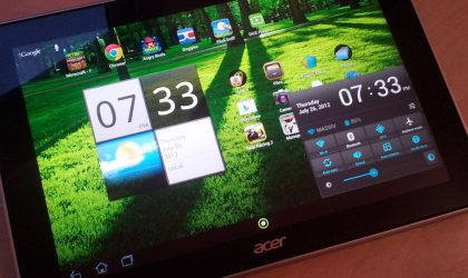 Acer Iconia Tab A700 Price dropped to just €399. Gets you 1080p display and Android 4.1