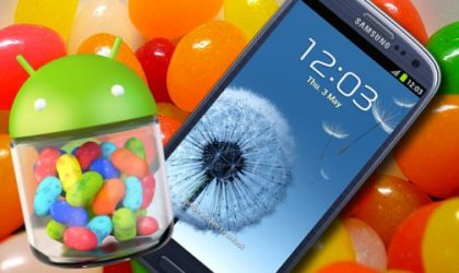 Android 4.1 Update for Samsung Galaxy S3 in UK rolling out!
