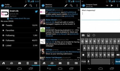 Echofon Alpha Android APK and install it manually