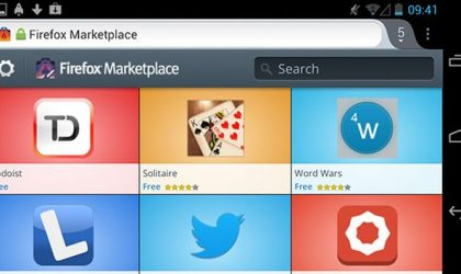 Web Apps from Mozilla Marketplace available for Android users using Aurora build of Firefox