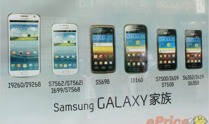 Samsung Galaxy Premier is ready for business, appears in advertisement