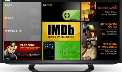 Google TV gets Google Play — Movies, TV Shows and Music gets release date of 'next few weeks'