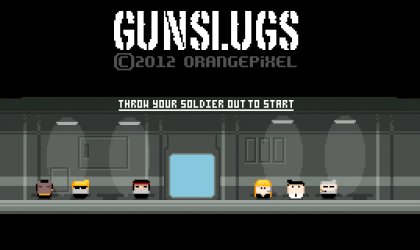 Preview Video of Co-op Android game, Gunslugs, is out!