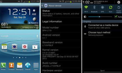 Sprint Galaxy S3 Jelly Bean Update: L710SPRBLIF [Leak]