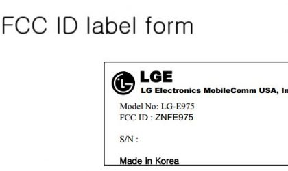 LG E975 clears FCC, US release date for LG Optimus G is very near now