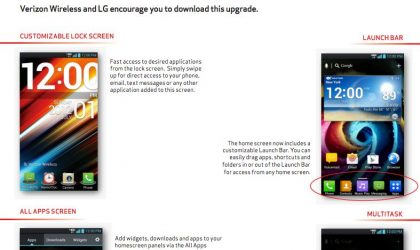 LG Spectrum Android 4.0 ICS update approved by Verizon