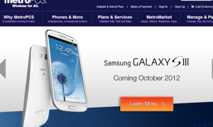 MetroPCS Galaxy S3 Price and release date announced