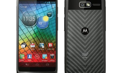 Motorola RAZR i UK Priced at Phones4U: £21 per month, no upfront payment