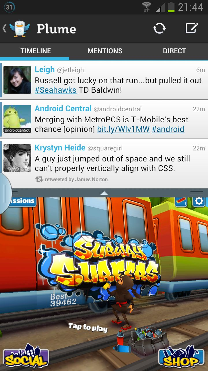 Galaxy Note 2 Multi-View feature hacked, Android apps can be