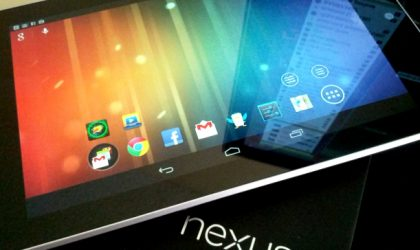 32 GB Nexus 7 release date for UK said to be before Christmas, for Price of £200