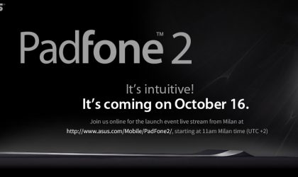 ASUS Padfone 2 teaser appears online, Oct 16 announcement confirmed