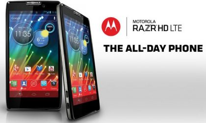 Rogers Razr HD LTE Specs and Price Announced. Already released.