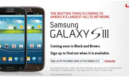 2 New Colors for Verizon Galaxy S3 – Black and Brown