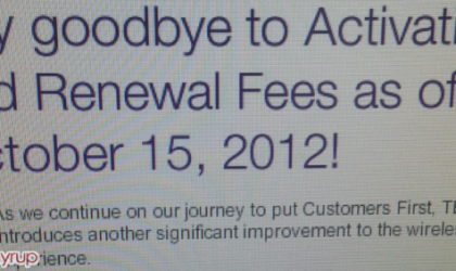 TELUS Canada kicks out Activation fees and Renewal fees
