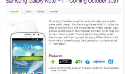 Samsung Galaxy Note 2 Release Date for Canada officially announced!