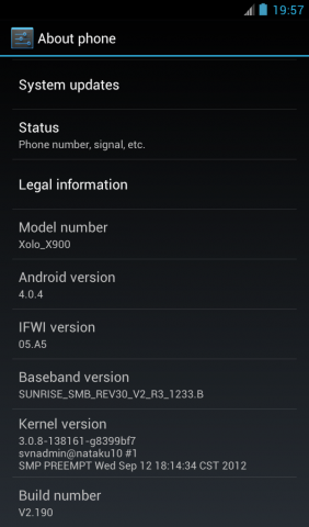 Ice Cream Sandwich Update for Lava Xolo X900 now available