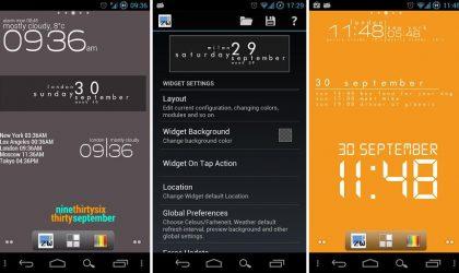Zooper – a minimal Android widget