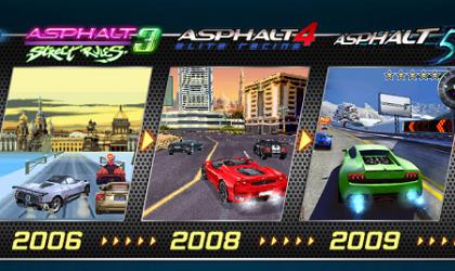 9 years of Asphalt racing, 50 million downloads!