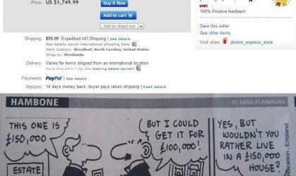 Nexus 4 price shoots to $1749 on eBay! [Update: Only $749]