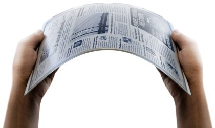 Future flexible displays from Samsung showed in a Video