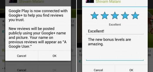 Google+ profiles