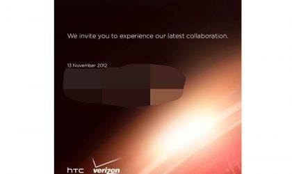 HTC Droid DNA November 20 release date looks final as press event announced for Nov 13