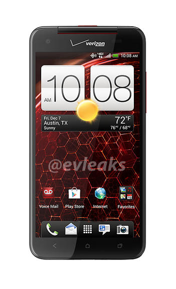 HTC Droid DNA press image leaks on twitter