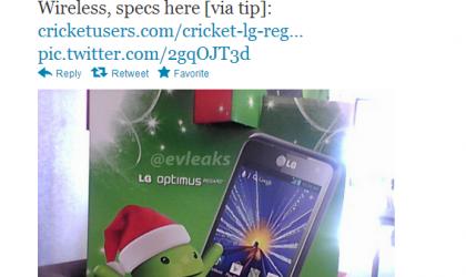 LG Optimus Regard Specs leak