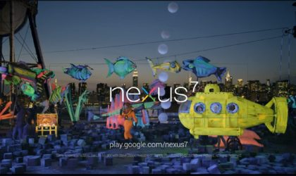 Watch the New Nexus 7 Ad featuring Aquarium