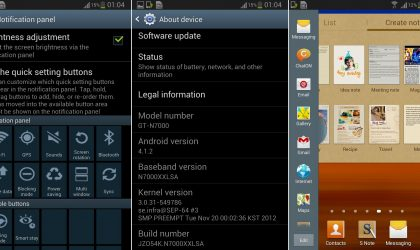 Official Jelly Bean test firmware leaked for the Galaxy Note N7000 – XXLSA