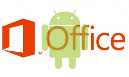 MS Office for Android revealed
