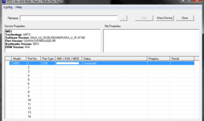 Motorola Drivers and RSDLite software