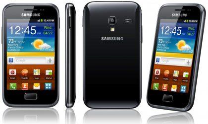 Samsung announces Galaxy Ace Plus for South Korea