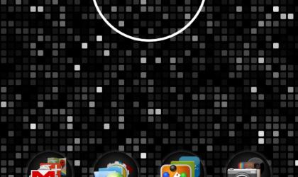 Nexus 4 back cover inspired live wallpaper — Nexus 4 Dot Live Wallpaper