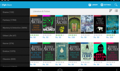 Flyte eBooks launched by Flipkart in Google Play Store