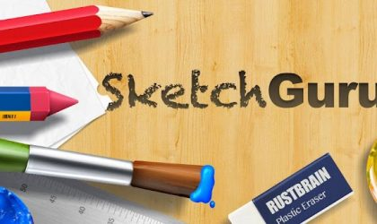 Sketch Guru updated with 5 new cool photo filters
