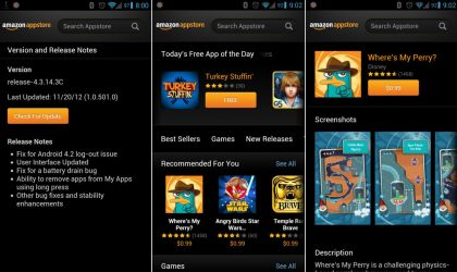 Amazon Appstore Android app gets a new look, Android 4.2 compatibility