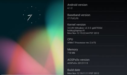 AT&T Galaxy Note Jelly Bean-based AOSP ROM