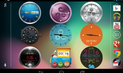 New Android 4.2 compatible clock app gets you lock screen widgets too