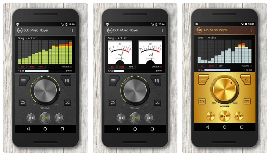 how to play music while on other apps android