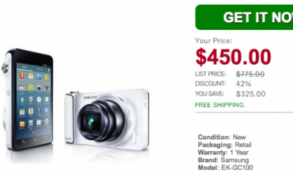 $50 off on AT&T's Samsung Galaxy Camera through Daily Steals