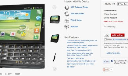 Samsung Galaxy Stratosphere 2 now available from Verizon for $129.99, free at RadioShack