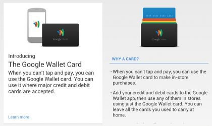 Google planning physical Google Wallet card?