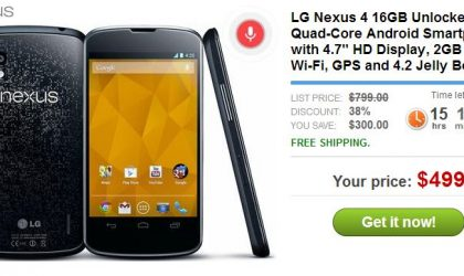 Buy Nexus 4 16GB for $499 from Daily Steals