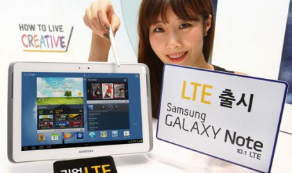 Samsung announces Galaxy Note 10.1 LTE for South Korea