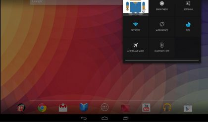 Penttry: A cool battery theme for your Nexus 10