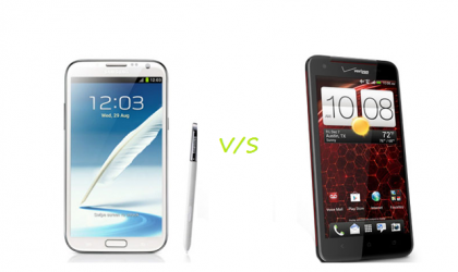 HTC Droid DNA Vs Samsung Galaxy Note 2
