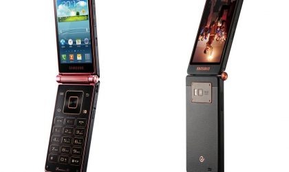 Samsung SCH-W2013 dual screen flip phone made official in China