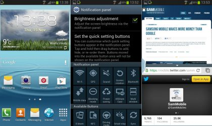 XXELK4 – Android 4.1.2 Update for Samsung Galaxy S3